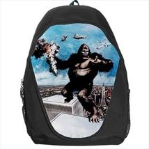 backpack king kong scyscrapper school sport bag  - $39.79