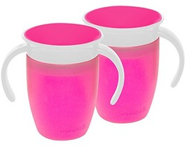 Munchkin Miracle 360 Trainer Cup Pink/Pink - $17.36