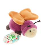 MagNICI Butterfly Fuchsia Orange Wing Stuffed Toy Magnet in Paws 5 inches 12 cm - $11.00