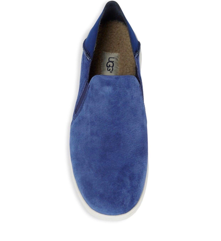 NEW UGG Men's Knox Suede Slip On Sneaker, Sizes 9, 11  Blue, MSRP $100 image 3