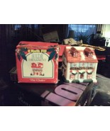 20#5   1993 Kwik Fill The Chalet Christmas Ornament Ceramic gas & oil pr... - $4.94