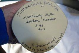 Vaillancourt Folk Art Gold European Father Christmas, signed by Judi! Last one! image 9