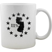 Original New Jersey State III Percenter Mug - $16.99