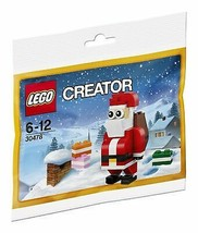 LEGO Creator 30478 Jolly Santa Christmas Polybagged 74 Piece Set - $16.14