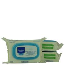 Mustela Cleansing Wipes 25 ct 3-Pack   - $31.85