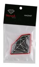 Diamond Supply Co Negro Rojo Brillante Refrigerador Imán de Nevera Nip