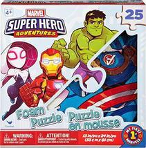 Marvel Super Hero Adventures 25-Piece Foam Puzzle - $13.85
