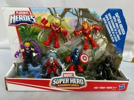 Playskool Heroes Marvel Super Hero Adventures Captain America Super Jung... - $43.02