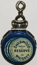 Vintage bottle cap SHERWOOD RESERVE WHISKEY metal recapper Kork n Seal u... - $7.19