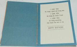Hallmark MAN 382 0 Husband Birthday Card with Twine Blue Envelope Pkg 2 image 3