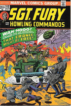 Sgt. Fury and His Howling Commandos Comic Book #113 Marvel 1973 FINE - $6.43