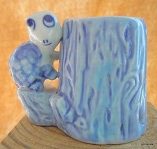 "Vintage Blue and White Turtle Toothpick Holder Enesco 2.5"" Korea - $15.00"