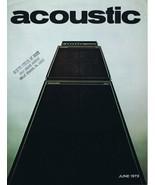 ORIGINAL Vintage June 1973 Acoustic Amps Catalog - $27.86
