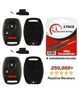 2 For 2010 2011 Honda Accord Crosstour - Keyless Remote Key Fob Uncut Sh... - $11.83