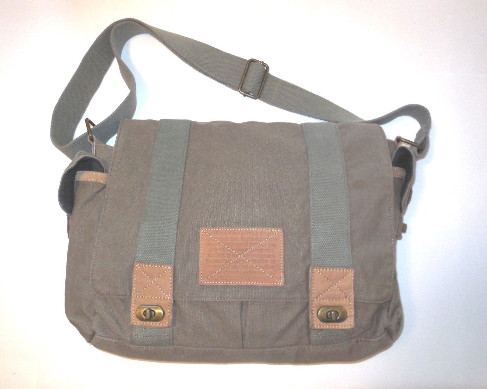 9a2068460 Fossil Large Canvas Shoulder Bag with and 50 similar items. 57