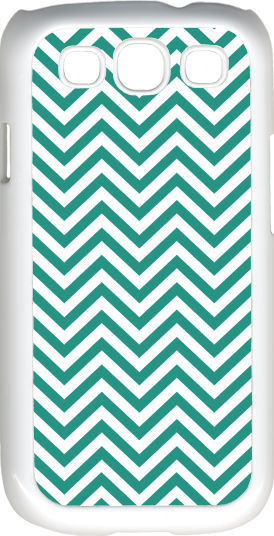 Primary image for Chevron Teal Blue Designed Samsung Galaxy S3 Case Cover