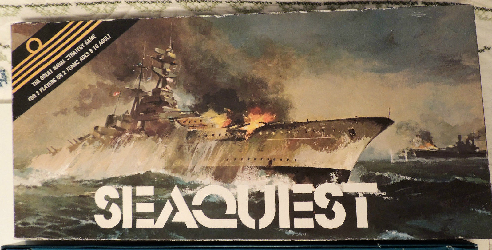 Primary image for Vintage Seaquest: The Great Naval Strategy Game Board 1975 Origineering COMPLETE