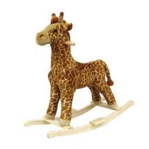 Happy Trails Giraffe Plush Rocking Animal - $49.48