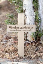 Memorial Cross Personalized for Your Loved One