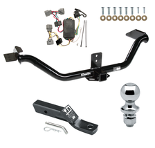 Trailer Tow Hitch For 06-14 Honda Ridgeline Complete Pkg w/ Wiring & 1-7... - $259.85