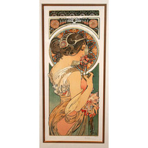 """PRIMROSE"" by ALPHONSE MUCHA, Print Signed and Numbered - $3,740.91"