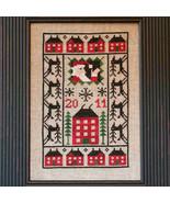 FULL KIT 2011 Santa Limited Edition cross stitch kit Prairie Schooler  - $26.50