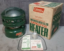 Vintage Mar. 1970 Brand New in Box Unfired Coleman 513-700 Catalytic Heater USA - $149.99