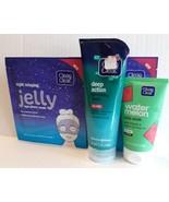 Lot 5 Clean & Clear Acne Cleaning Acne Scrub Exfoliating Scrub and Acn... - $14.85