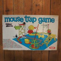 Vintage Mouse Trap Board Game by Ideal Original Box Complete 1963 - $49.49