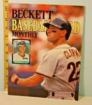 No. 52 Beckett Baseball Card Monthly Guide Will Clark July 1989 & Extra ... - $12.38