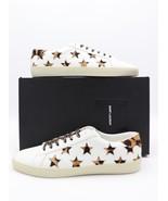 NIB Saint Laurent Court Classic SL/06 Leopard California Leather Sneaker... - $375.00