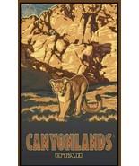 Northwest Art Mall Canyonlands Utah Cougar Artwork 11x17-Inch  2W87H - £7.08 GBP
