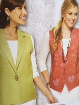 Kwik Sew Sewing Pattern 3899 Misses Ladies Vests Size XS-XL New - $14.85