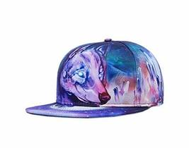 PANDA SUPERSTORE Individuality Fashion Baseball Cap Hip-Hop Hat (Adjustable, Pur