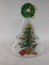 LEFTON Christmas Tree Bell  Christmas Tree #01199 Vintage Japan - $6.92