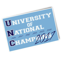One UNC University of Champions Seven Years 4x6 Car Refrigerator Locker Magnet - $5.94