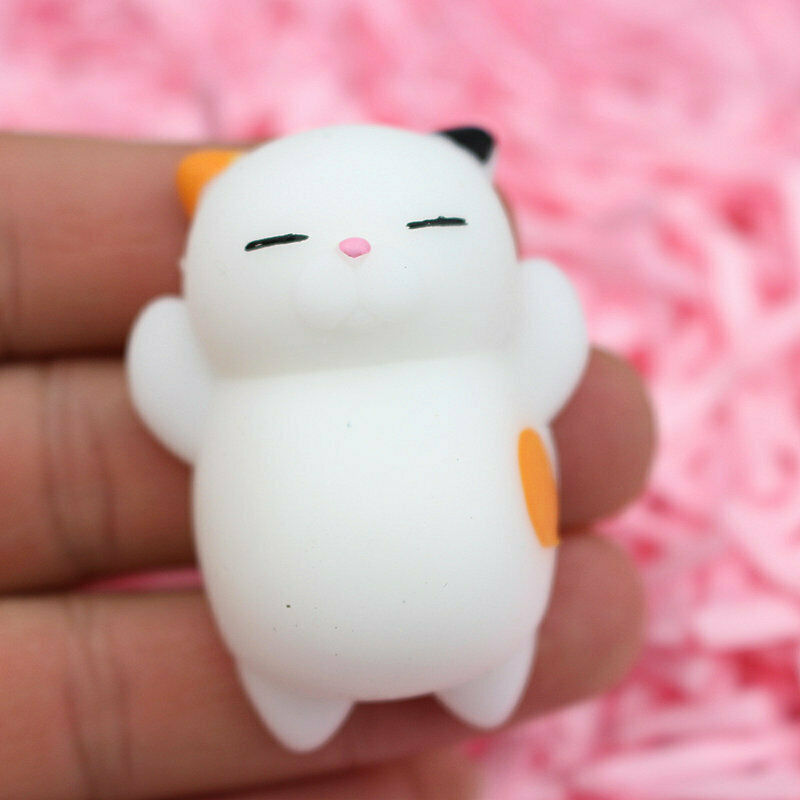 Cute Anti-Stress Squishy Healing Kawaii Mochi Reliever Kid Squeeze Decor Toy Fun