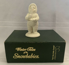 Department 56 Snow Babies Snowbabies Just One Little Candle Figure - $14.01