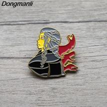 L3509 Enamel Pin Brooches Cartoon Creative Metal Brooch Pins Denim Hat B... - $7.99