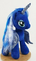 Build a Bear My Little Pony Princess Luna Plush Blue Pegasus Stuffed Ani... - $25.12
