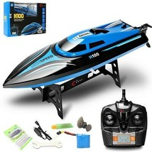 High Speed Racing Boat H100 2.4G Radio Controlled 390-Magneto Drive Wate... - $53.40