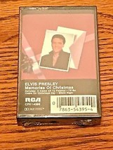 ELVIS ~ MEMORIES OF CHRISTMAS CASSETTE TAPE ~ STILL FACTORY SEALED ~ RAR... - $123.75