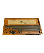 1944 Keuffel & Esser Leroy Lettering Drafting Set in Wood Case Incomplete - $38.80