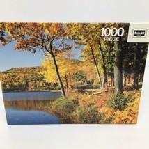 "Rose Art Prestige 1000 Piece Puzzle- New Hampshire Autumn- 19"" x 26 3/4""... - $14.01"