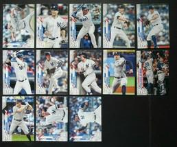 2020 Topps Series 2 New York Yankees Base Team Set of 13 Baseball Cards  - $7.99