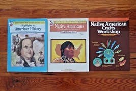 LOT Workbook Teacher Homeschool Learning Books Native Americans American... - $49.98