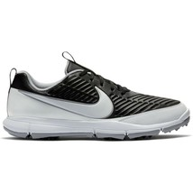 Nike Golf Explorer 2 Golf Shoes Black 849957-005 White Silver Size 11.5 ... - $59.95