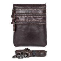 Sale, Vertical Messenger Bag, Vintage Leather Messenger Bag, Men Large Messenger image 2