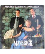 Maverick Laserdisc 1994 Movie Mel Gibson Jodie Foster Western Movie - $16.99