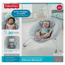 Fisher-Price Sweet Surroundings Monkey Deluxe Bouncer - $74.24